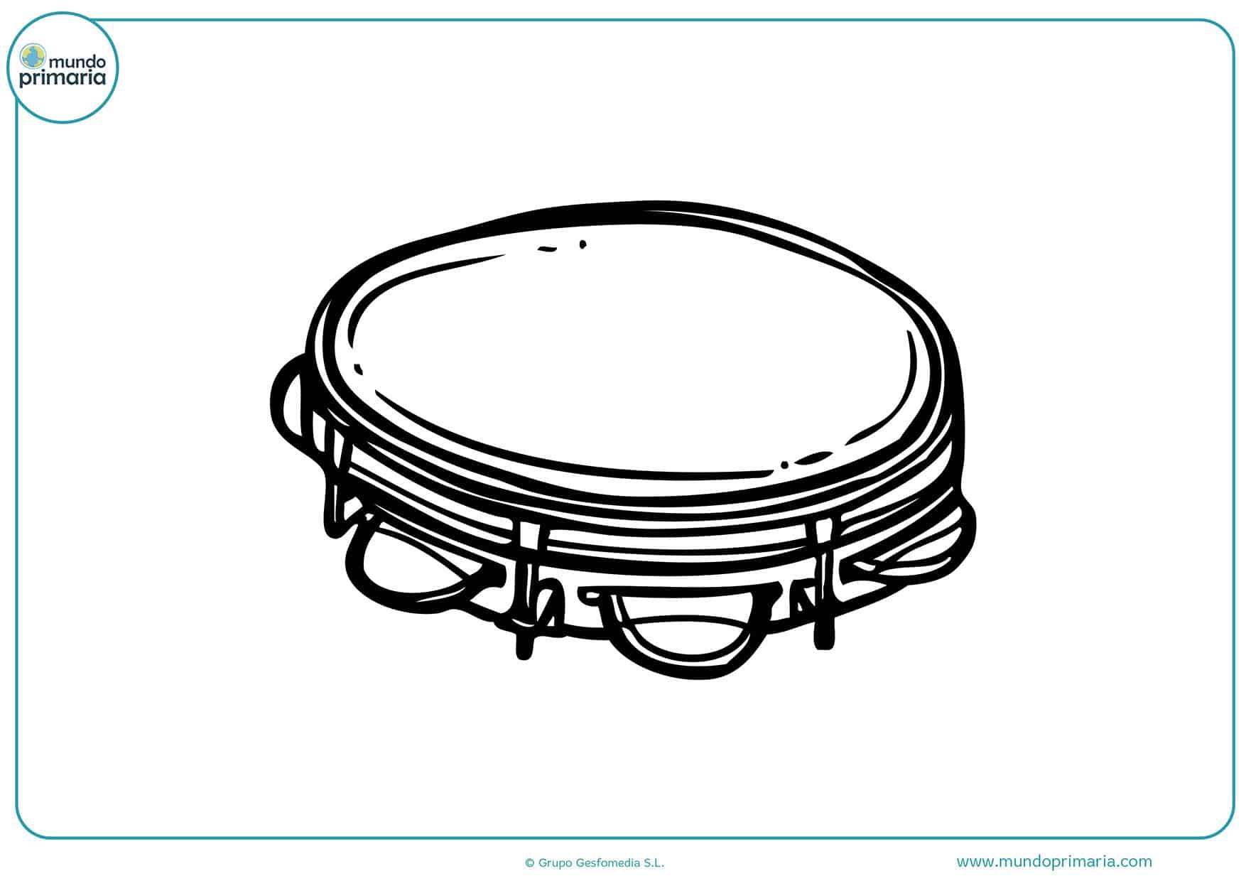 Dibujos instrumentos musicales para niños y niñas