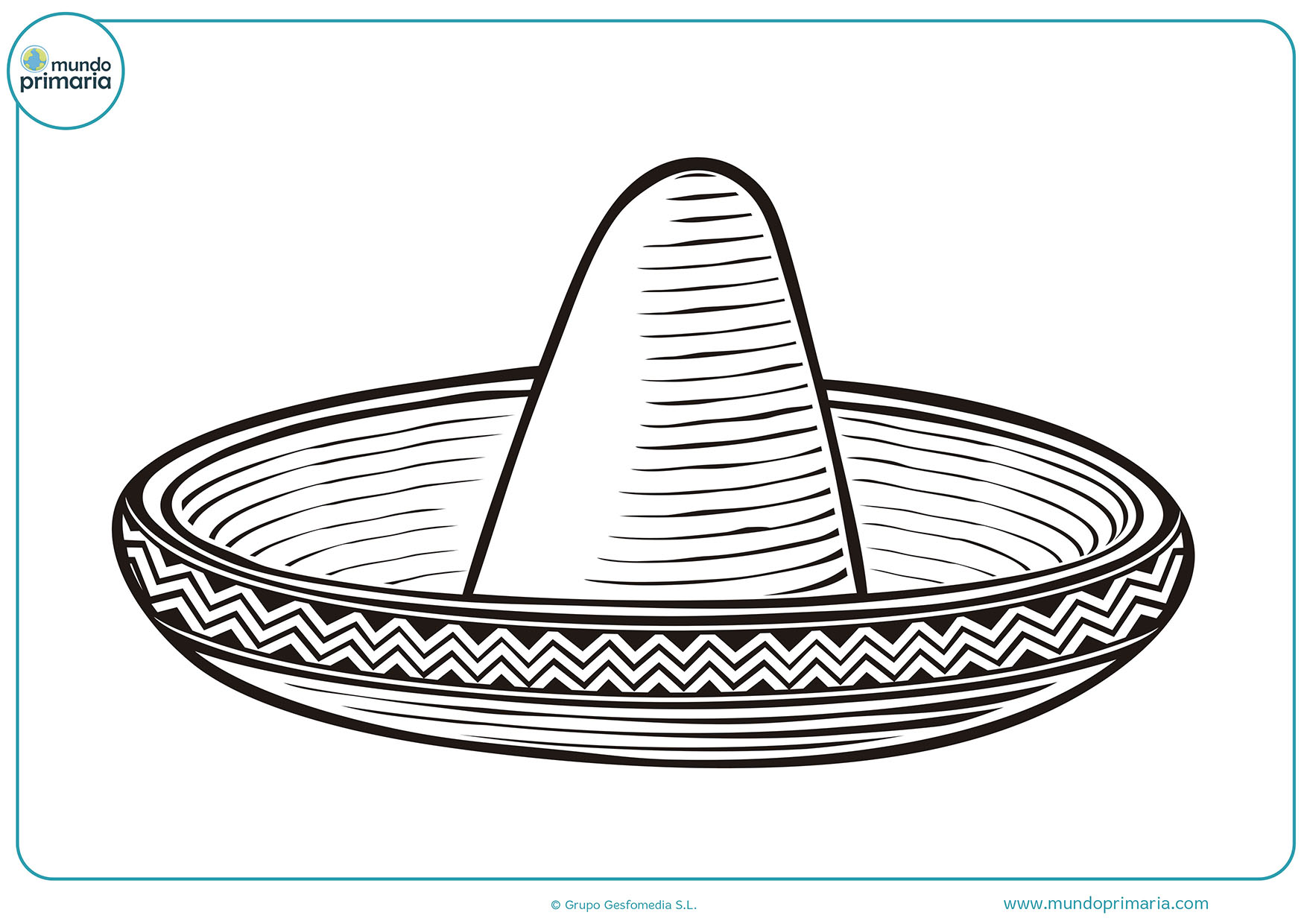 Dibujos fáciles colorear cultura