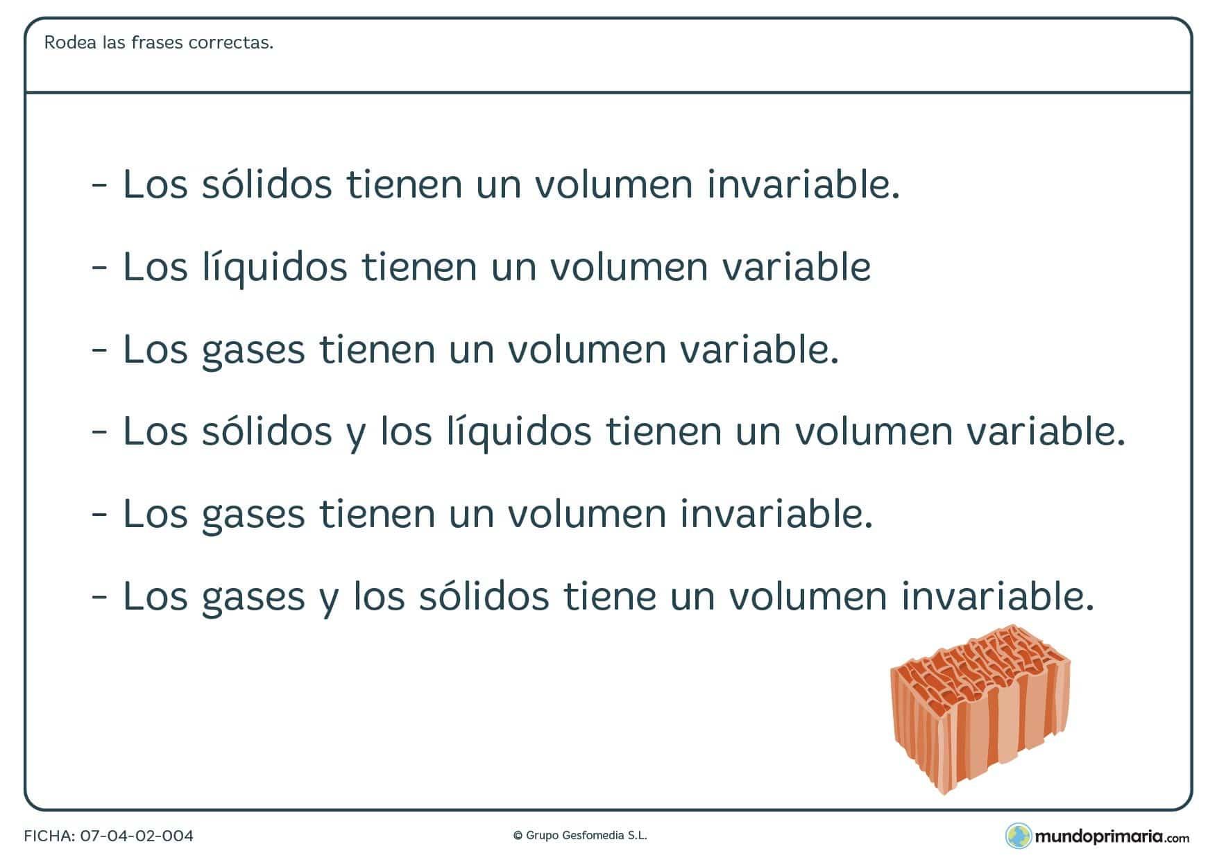 Ficha de tipos de gases para primaria
