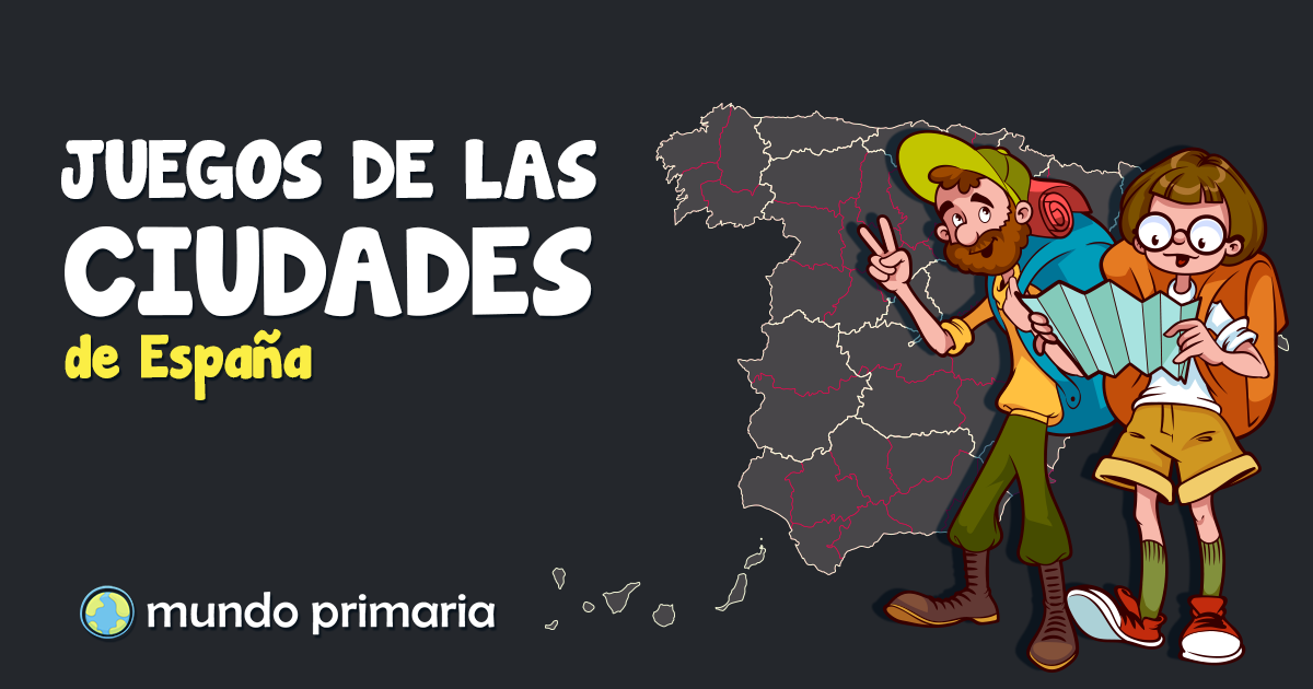 Juegos De Las Ciudades De España Para Primaria