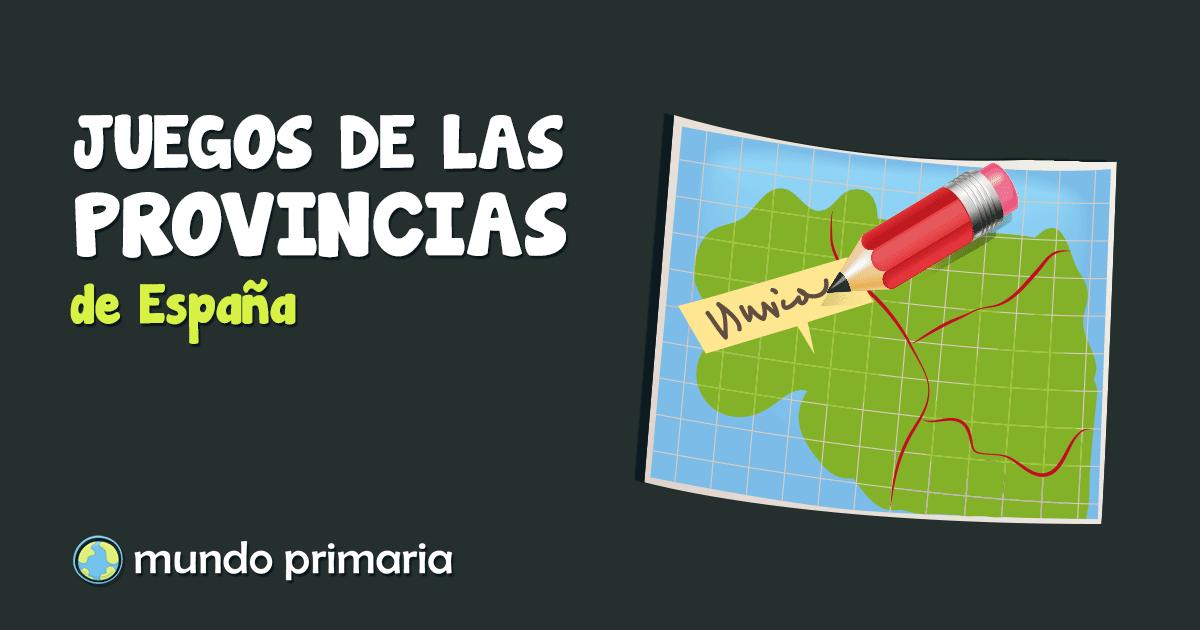 provincias de espaa para nios