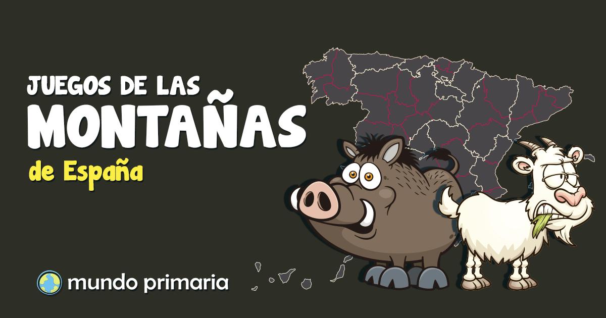 Mapa Relieve De España Para Niños.Montanas Y Relieve De Espana Para Ninos De Primaria