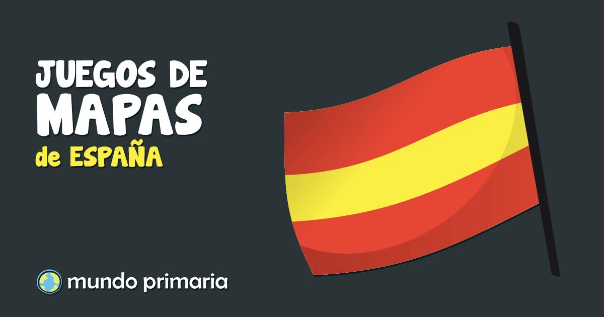Juegos de mapas de España interactivos para niños y niñas