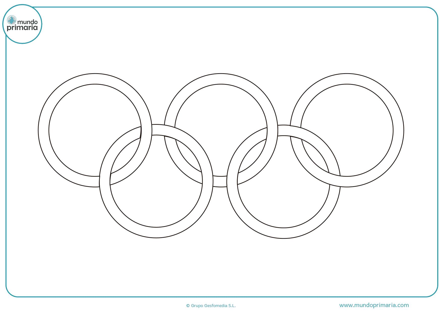 Qué significan los 5 anillos olímpicos? - Mundo Primaria