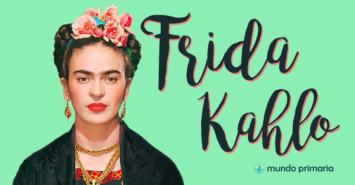 Frida Kahlo Dibujo Animado Para Colorear: Frida Kahlo Para Niños