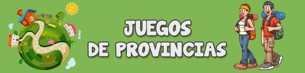 Aprender las provincias de España en Primaria