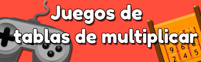 Juegos de tablas de multiplicar para niños de Primaria