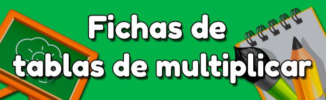Tablas de multiplicar gratis