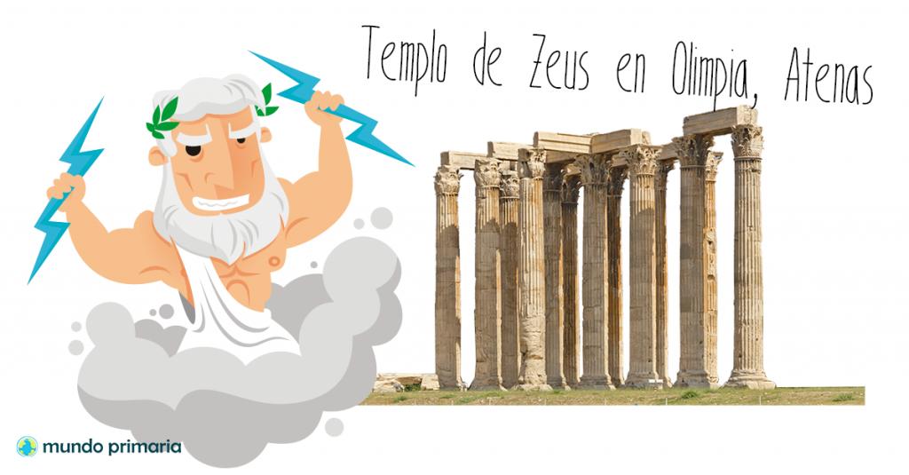 historia de los juegos olimpicos templo de zeus en olimpia