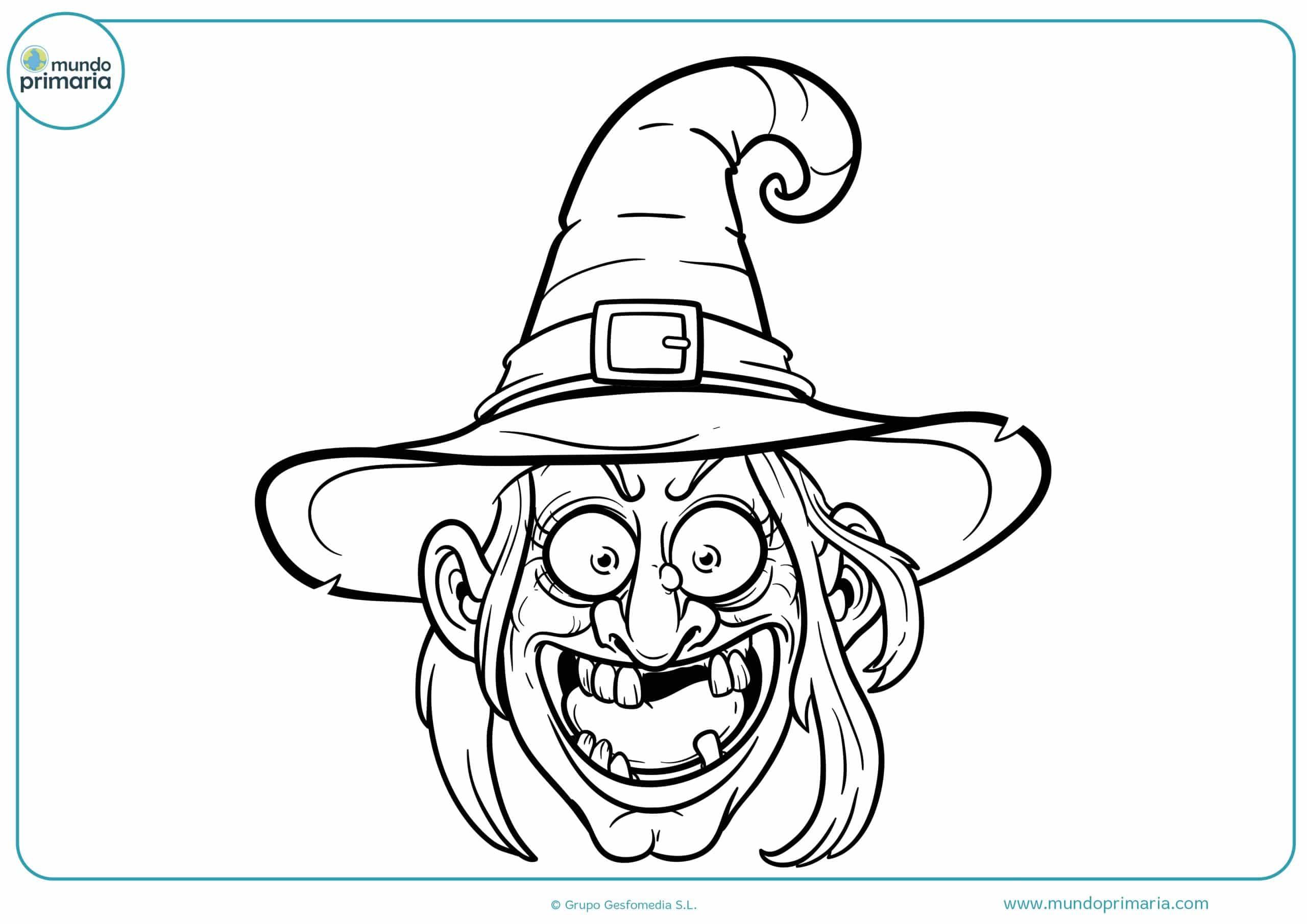Colorear dibujos Halloween