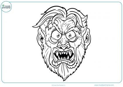 dibujo-cara-hombre-lobo