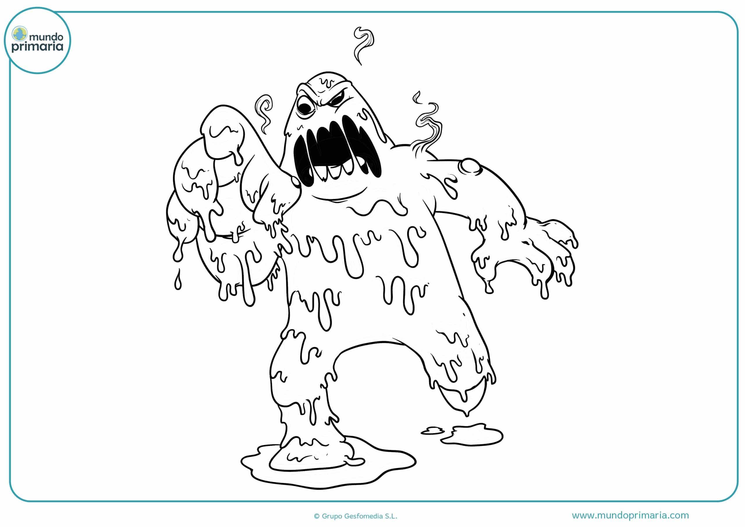 Atractivo Dibujos Temáticos De Halloween Para Colorear Regalo ...