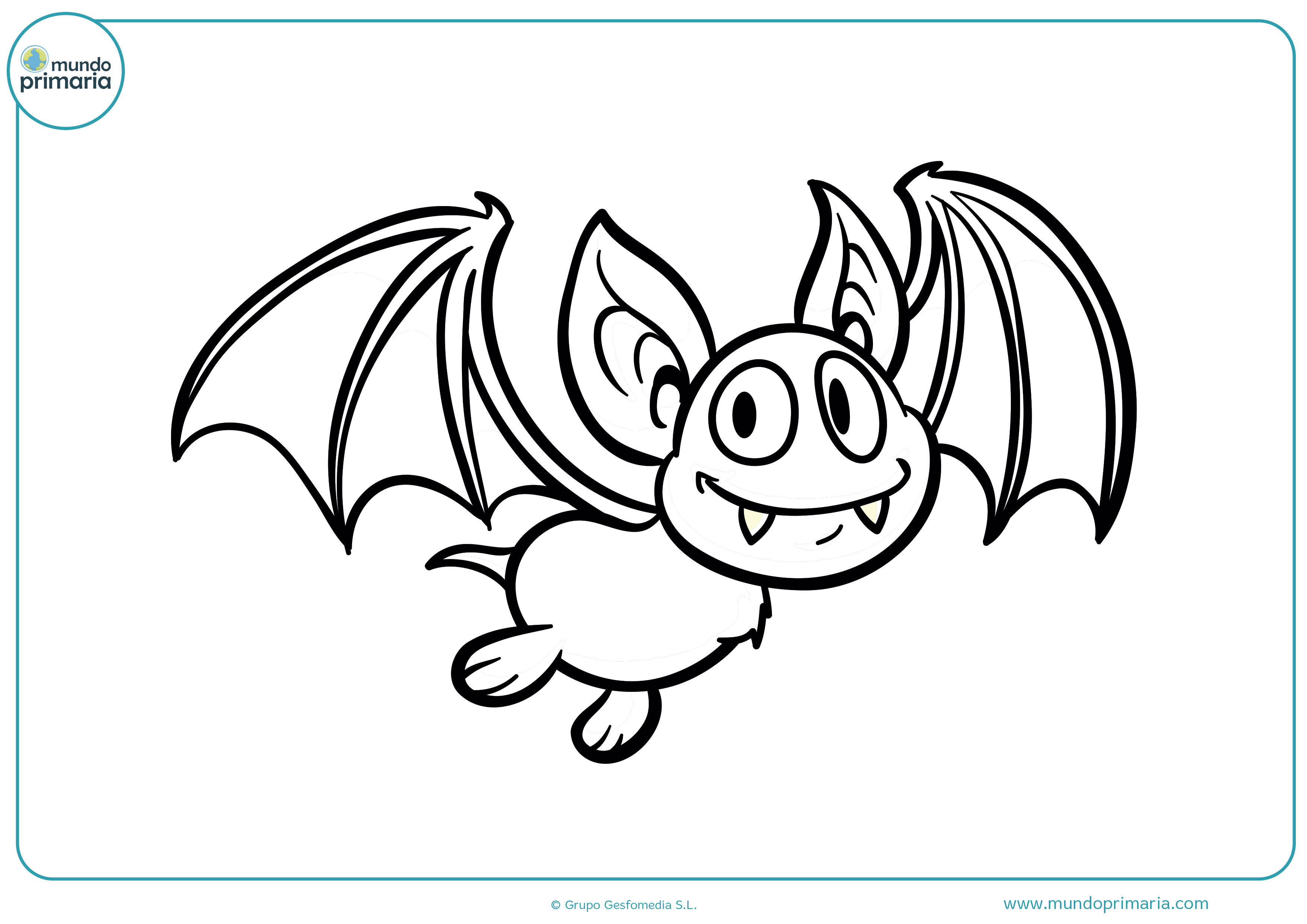 Coloring pictures of vampire bats