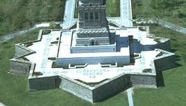 Imagen de Liberty Island sobre la que se levanta la estatua de la libertad