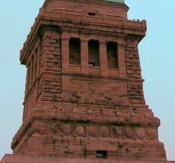 Imagen del pedestal de la estatua de la libertad