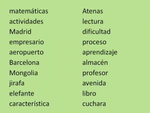 procesos léxicos lectura Jesús Jarque Pedagogía, ruta léxica
