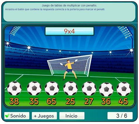 Juegos De Futbol Gratis Para Ninos De Primaria