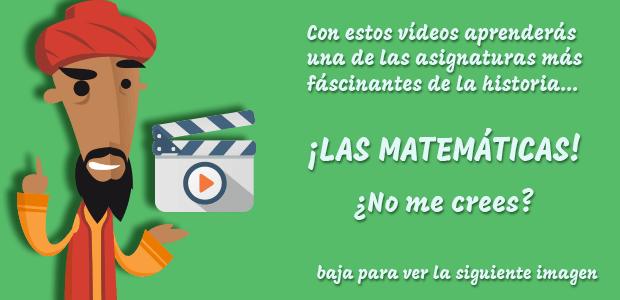 Vídeos de Matemáticas para Primaria