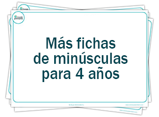 Fichas de Lectoescritura