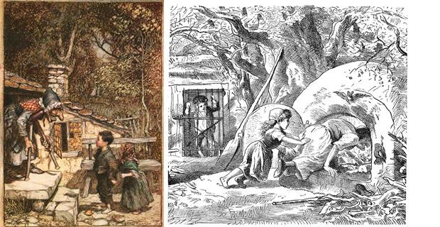 Hermanos Grimm Hansel y Gretel