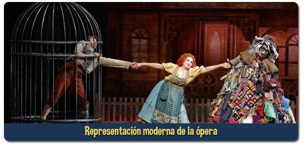 Hansel y Gretel ópera niños