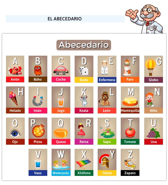 Juegos de abecedario
