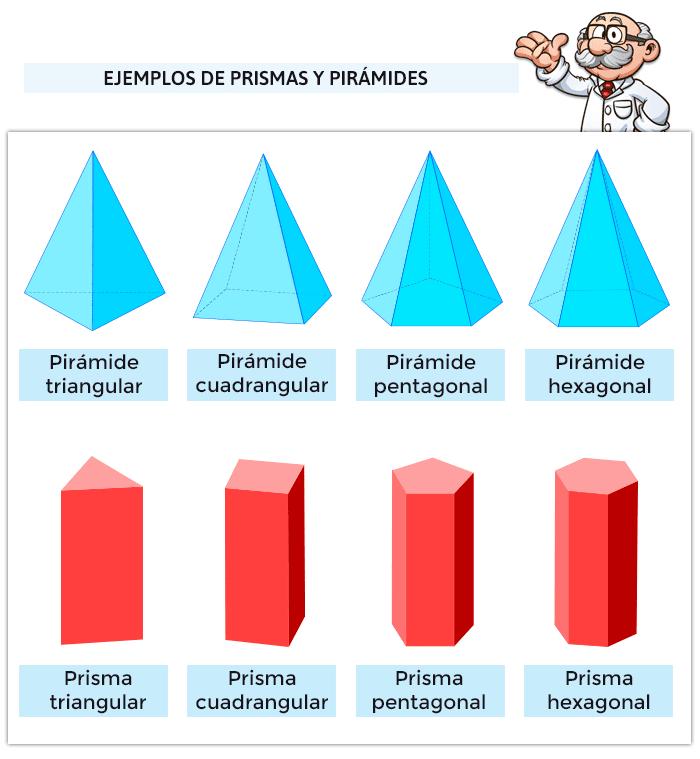 Juegos de prismas y pirámides