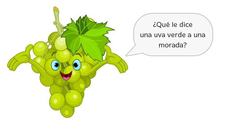 chistes de frutas para niños