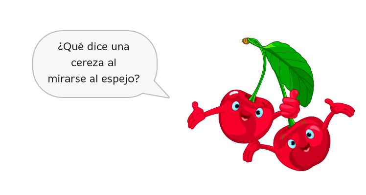chistes de frutas infantiles