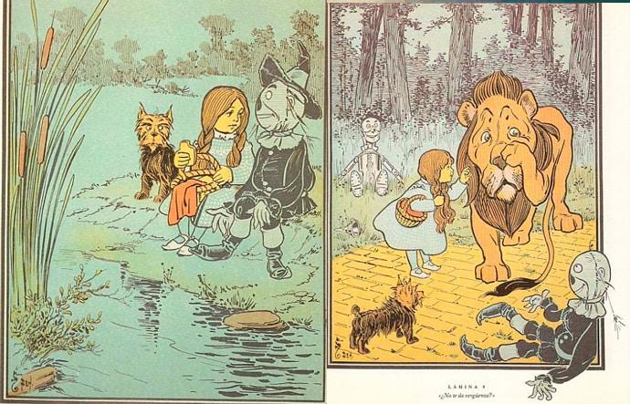 cuento Mago de Oz