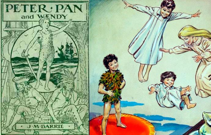 Peter Pan El Cuento de la Gran Aventura para niños