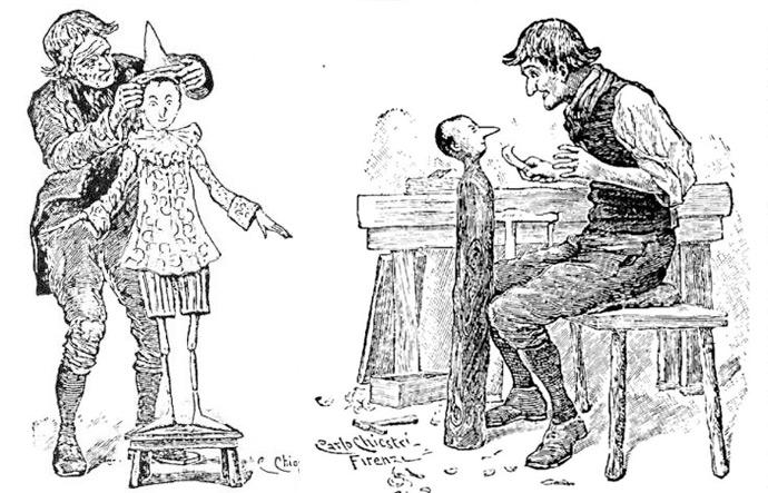 Cuento de Pinocho original