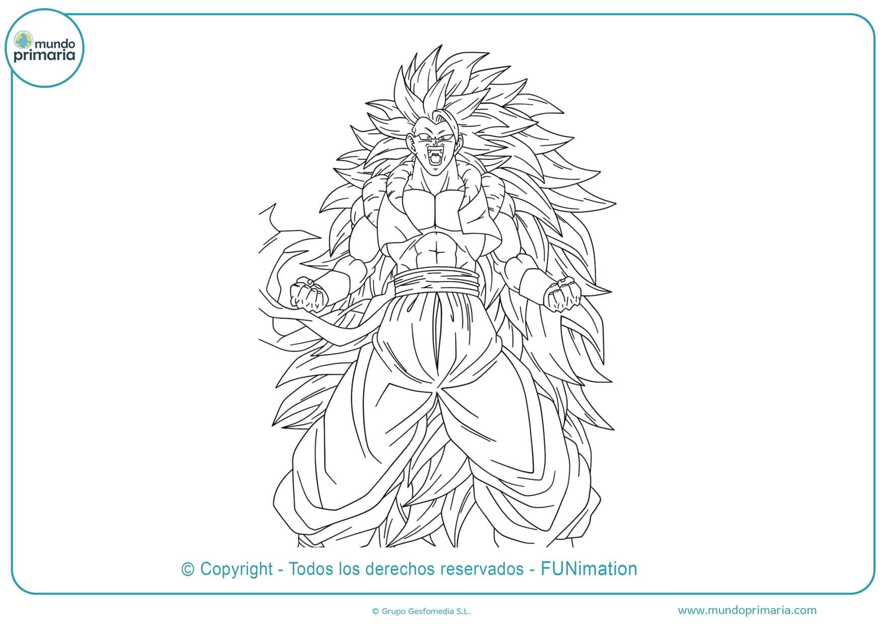 Cómo dibujar a Goku