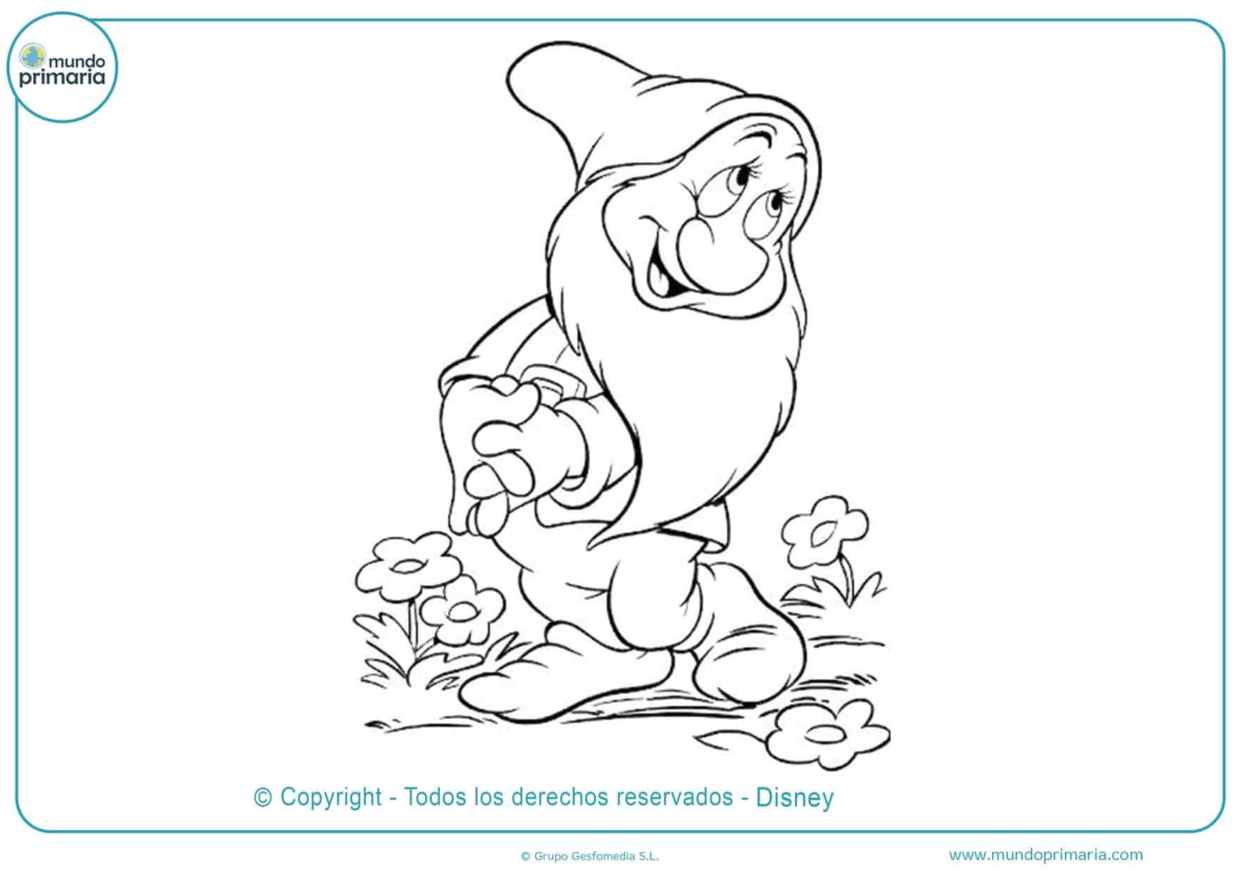 dibujos animados para colorear disney