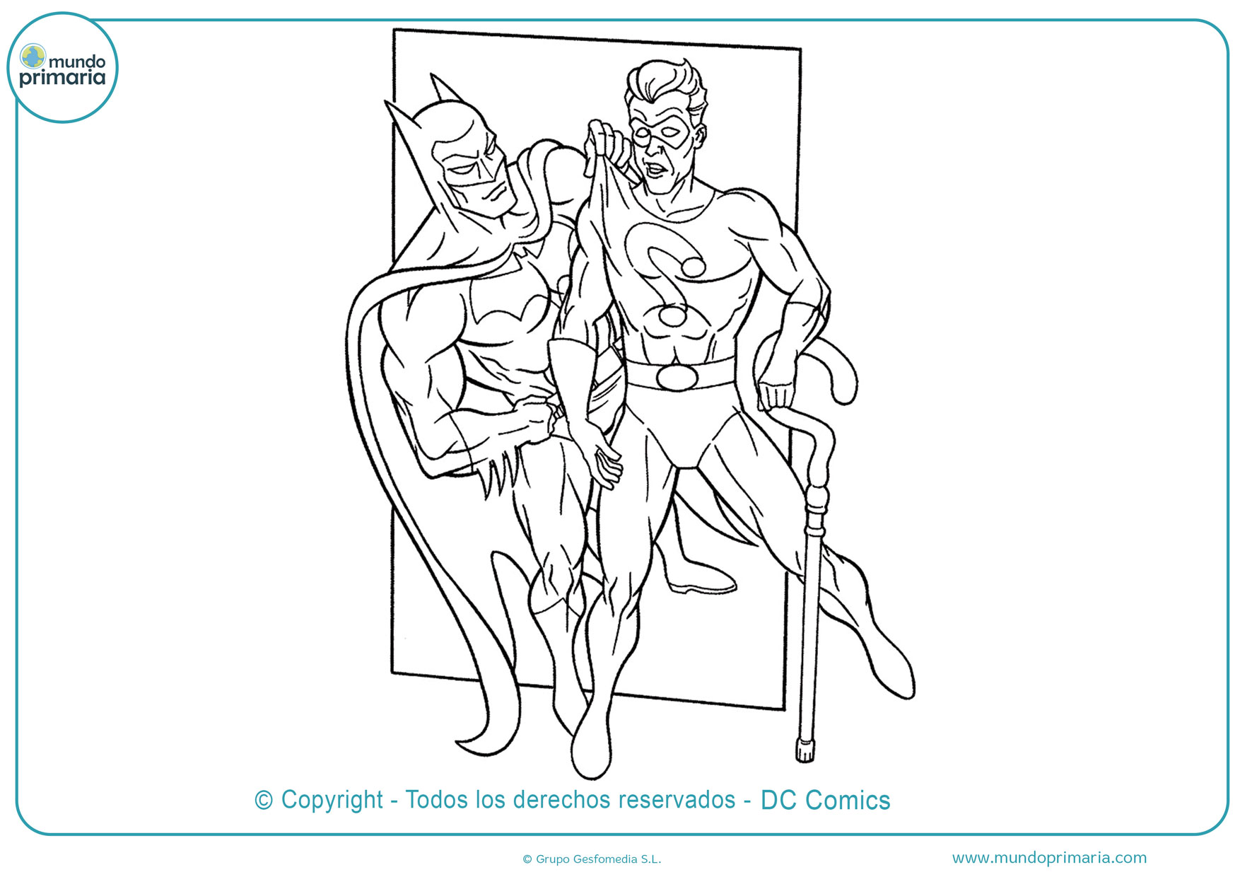 Dibujos de batman para imprimir
