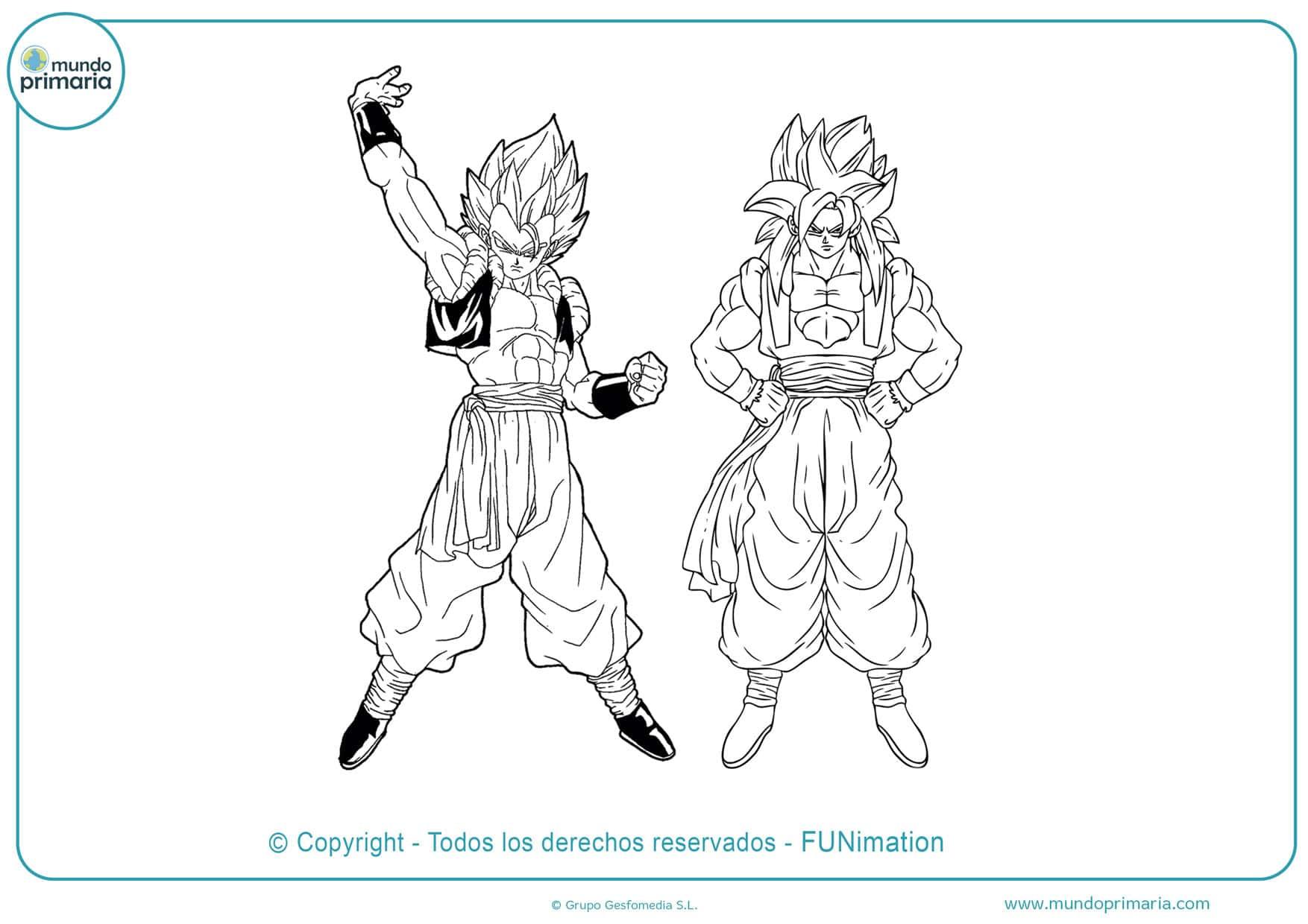 Dibujos de Son Goku