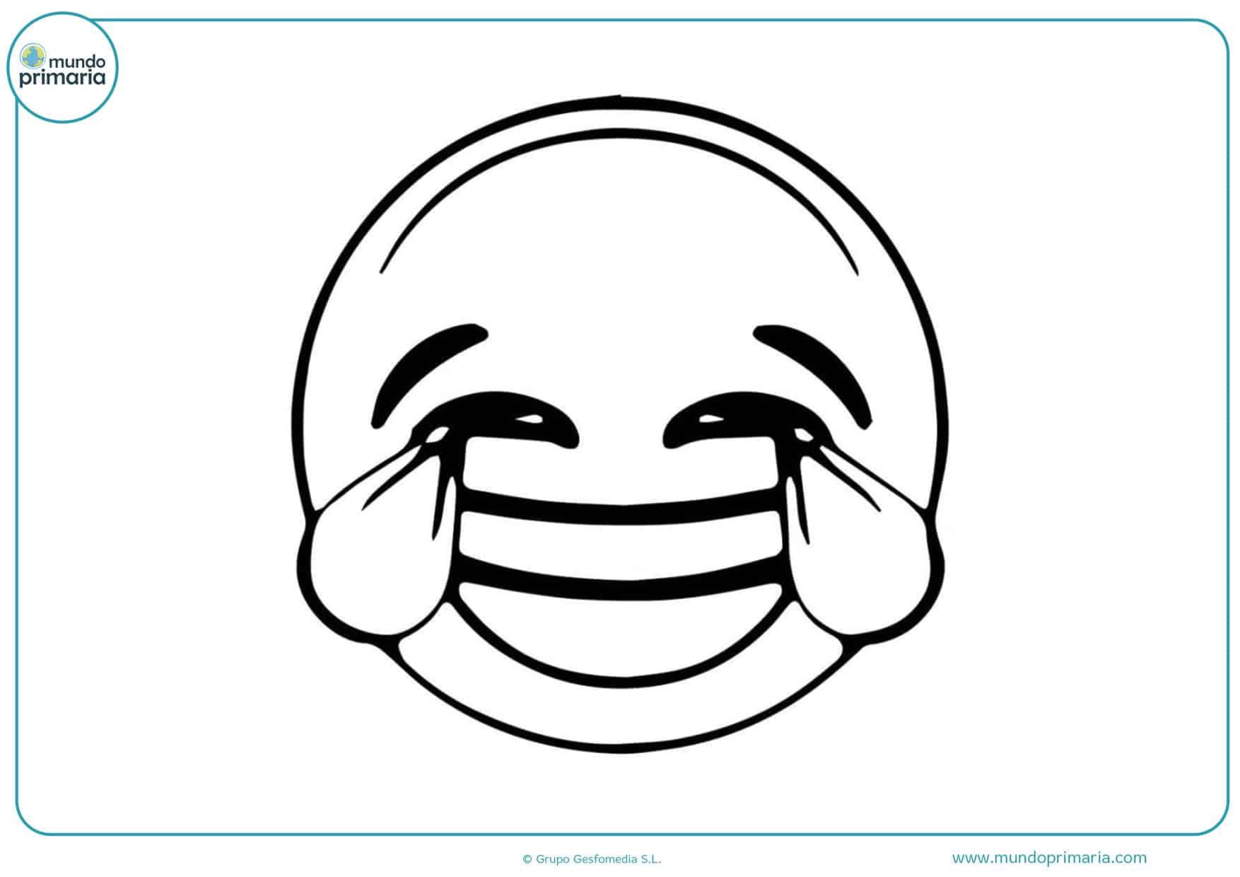 dibujos de los emojis para colorear