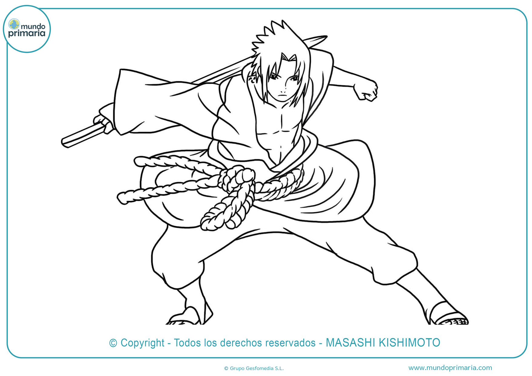Dibujos De Naruto Para Colorear Listos Para Imprimir
