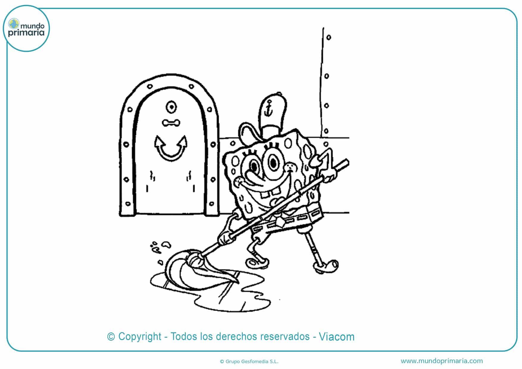 Dibujos De Bob Esponja Para Colorear Imprimir Y Pintar