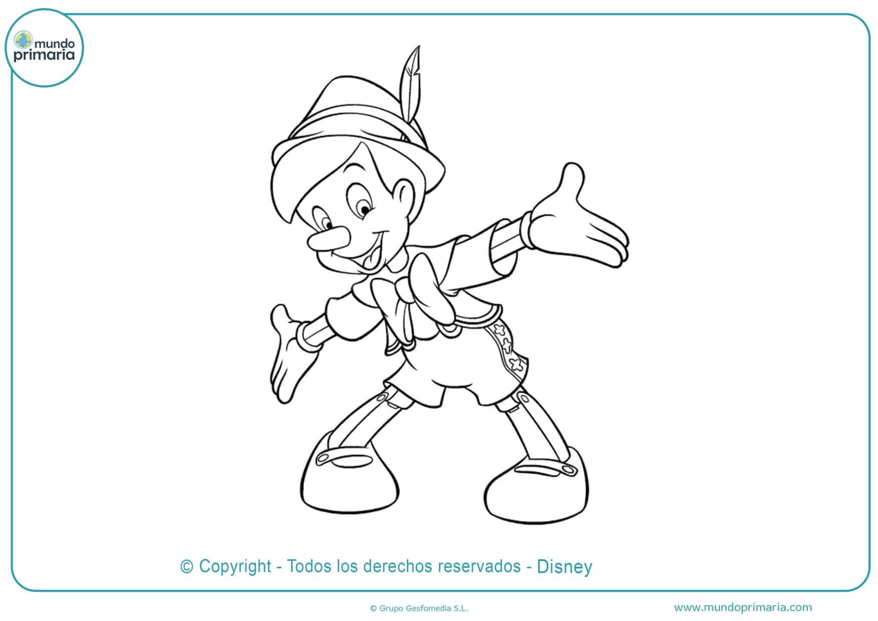 Dibujos De Disney Para Colorear Mundo Primaria