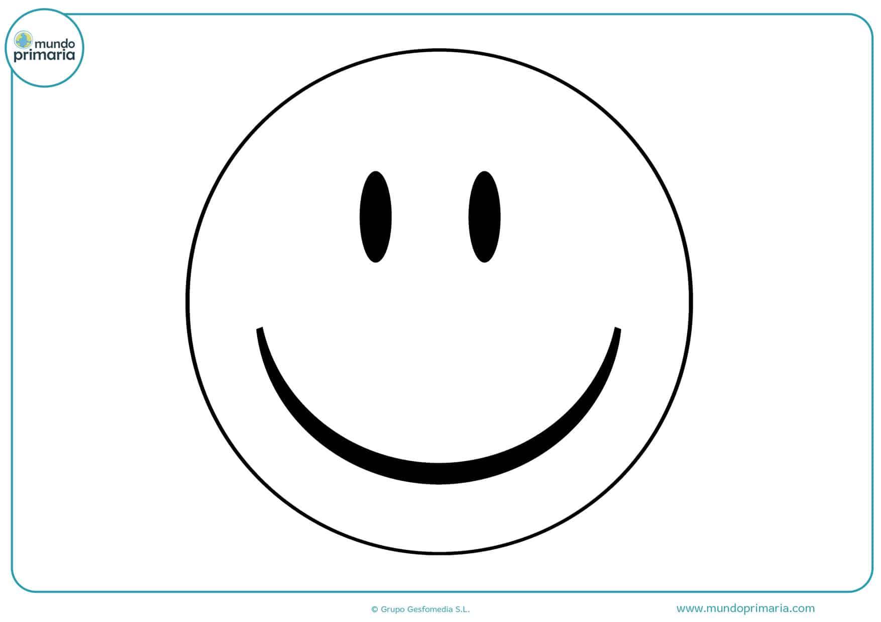 Dibujos De Emojis Para Colorear Mundo Primaria