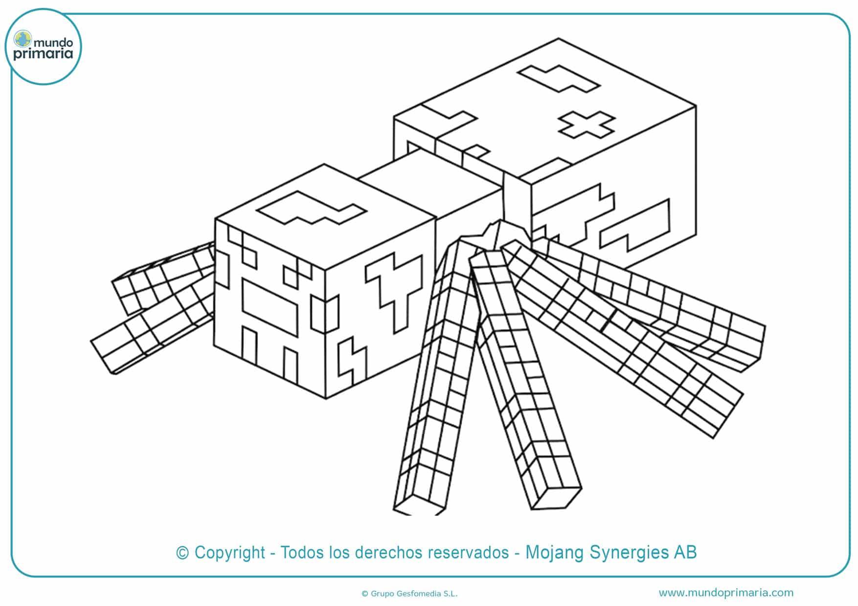 Dibujos De Minecraft Para Colorear Imprimir Y Descargar