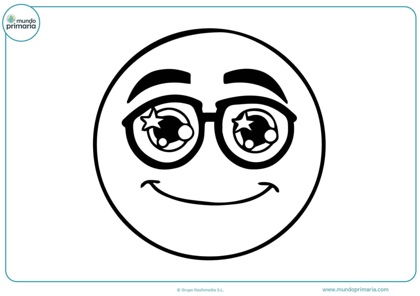 dibujos para colorear de la película emojis