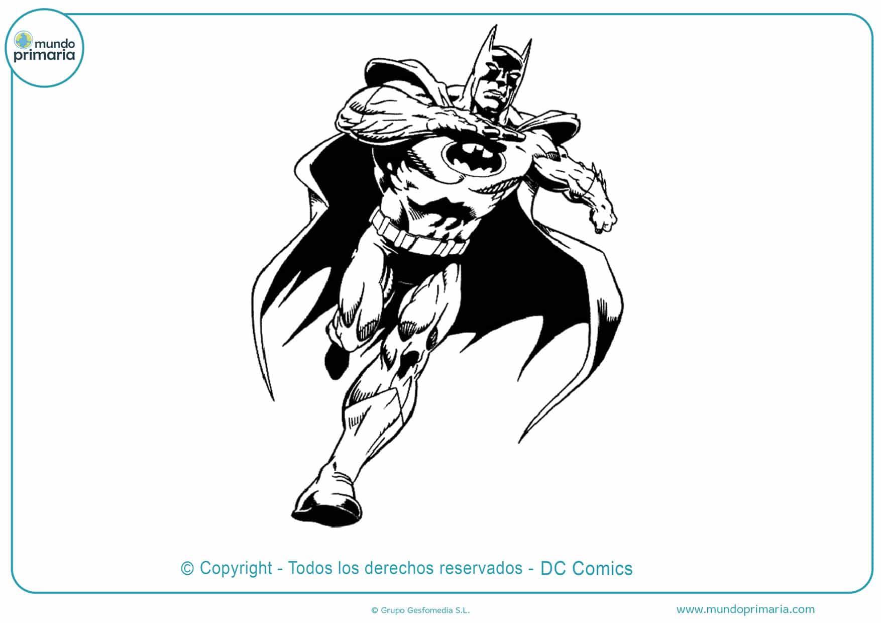 Dibujos para pintar de batman