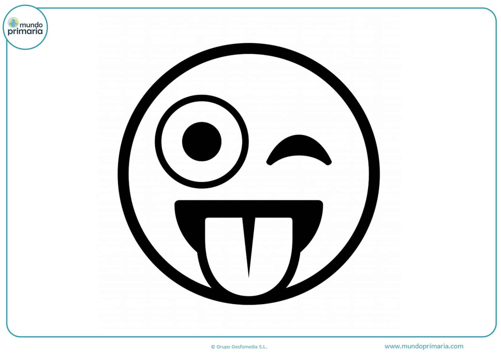 dibujos de película emojis para colorear
