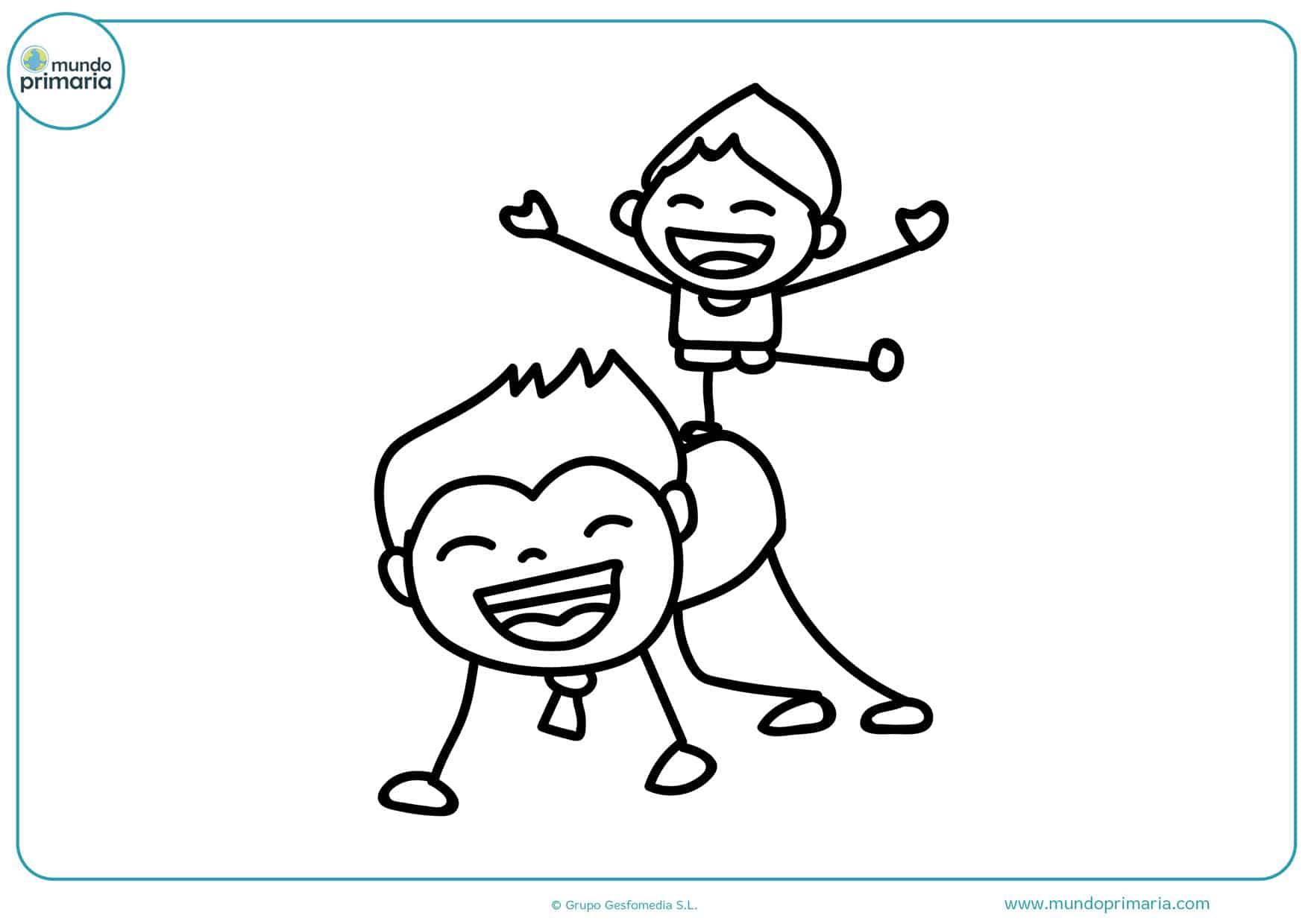 día del padre dibujos para colorear