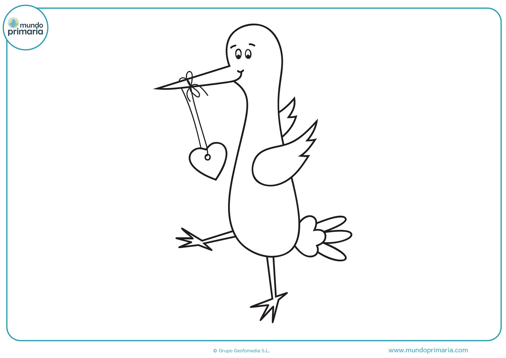 dibujos animados de amor para colorear