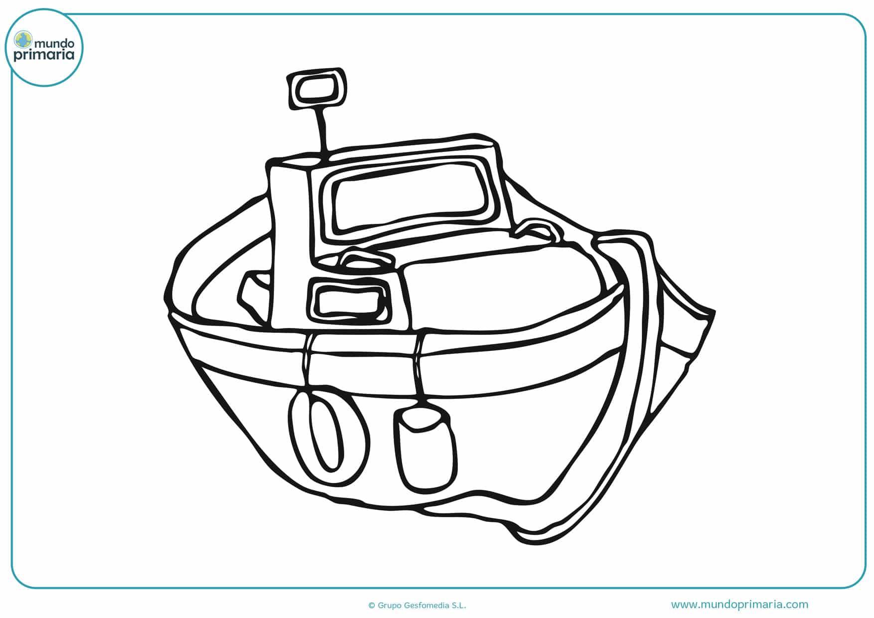 dibujos de botes y barcos para colorear