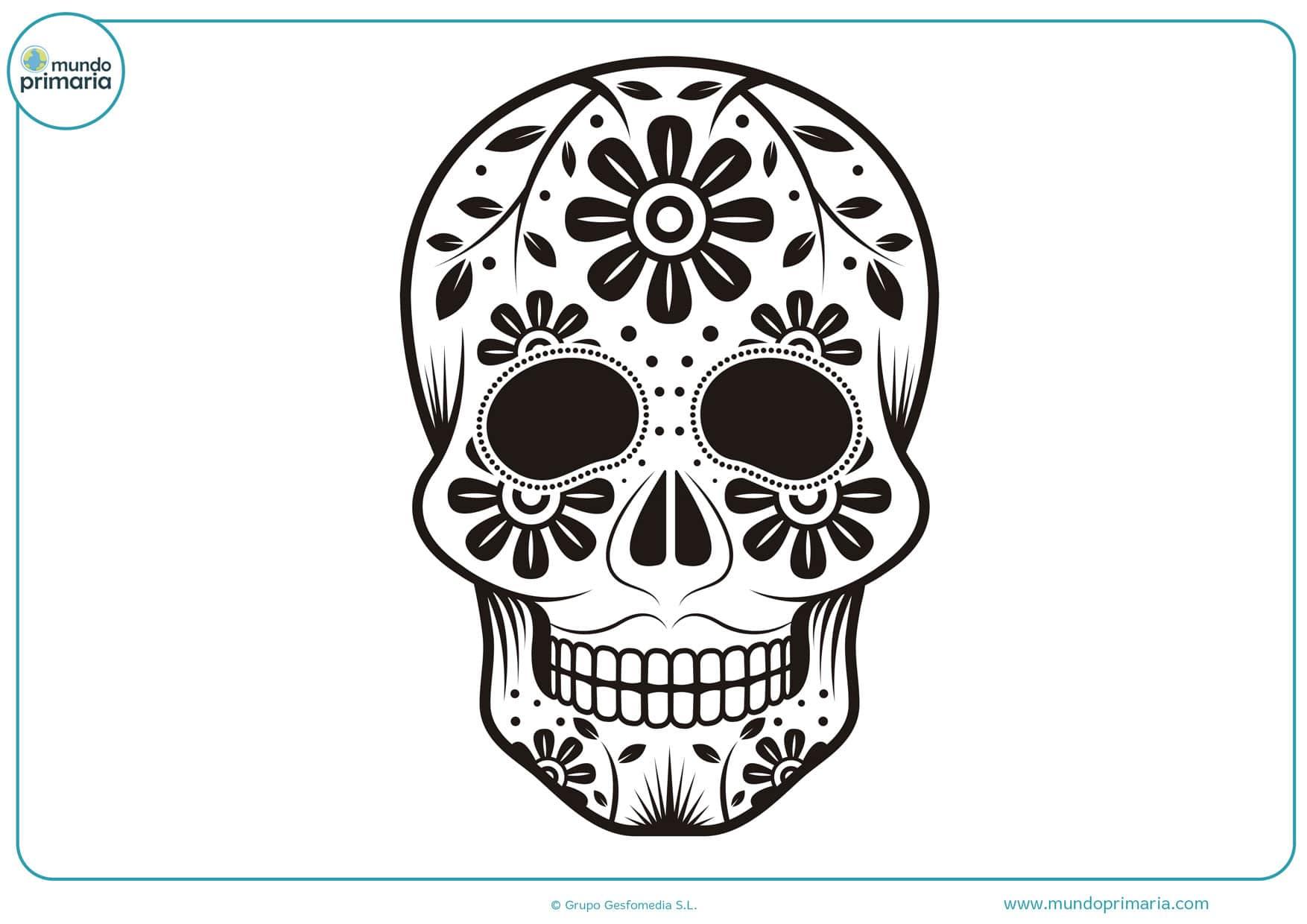 dibujos de calaveras del día de los muertos