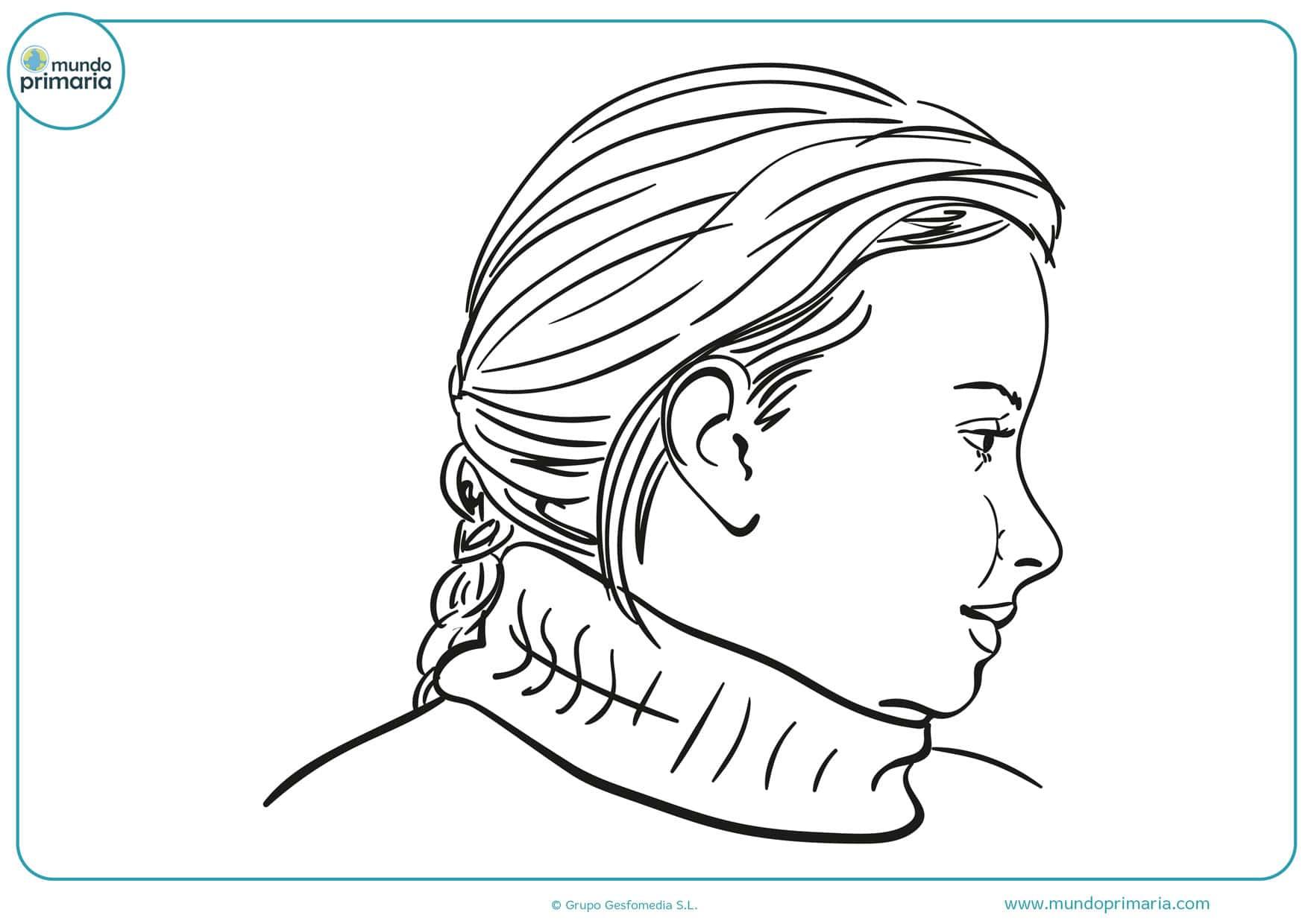 dibujos de caras de personas para colorear